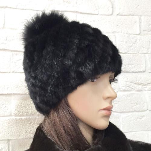 норка вязаная шапка шапки из вязаной норки своими руками мастер класс